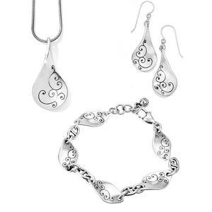Brighton Twirl Set, Necklace, Bracelet, Earrings